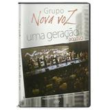 Dvd Grupo Nova Voz   Uma Geração [original]